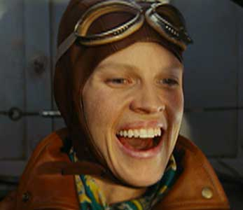 Hilary Swank as Ameila Earhart
