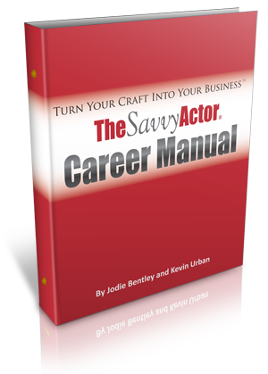 Savvy Actor Career Manual Cover