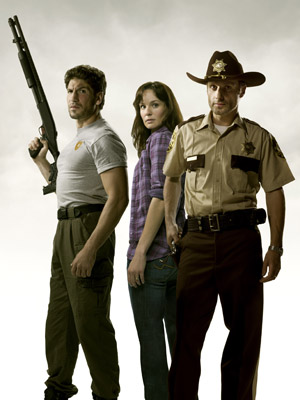 The Walking Dead - Andrew Lincoln, John Bernthal, Sarah Wayne Callies
