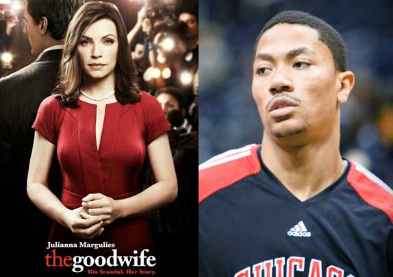 The Good Wife vs Derrick Rose