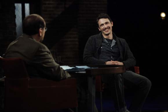 Lipton and James Franco - Inside the Actors Studio