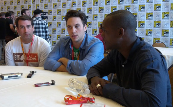 NTSF-SD-SUV-Rob-Riggle,-Curtis-Gwinn-and-Brandon-Johnson-at-Comic-Con