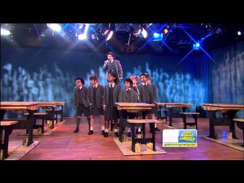 Watch the Cast of 'Matilda the Musical' Perform on 'Good Morning, America'