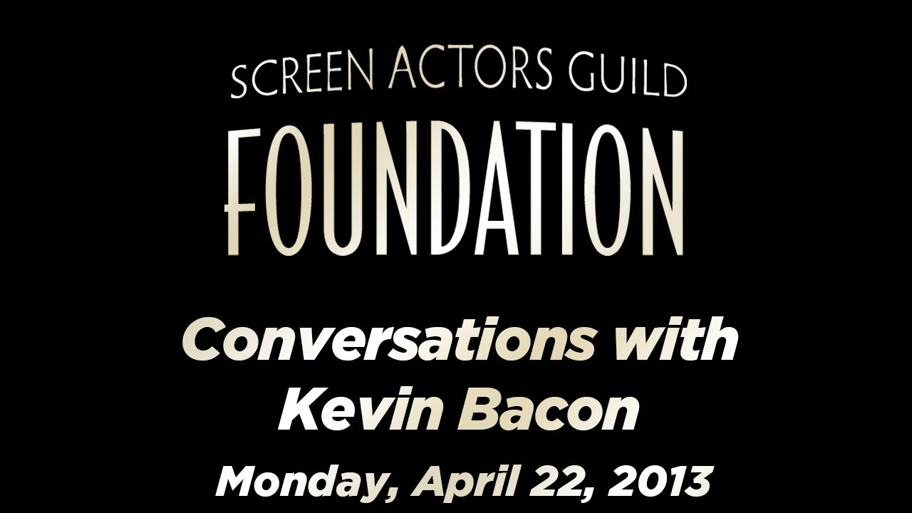 Kevin Bacon Career Retrospective from the SAG Foundation (video)