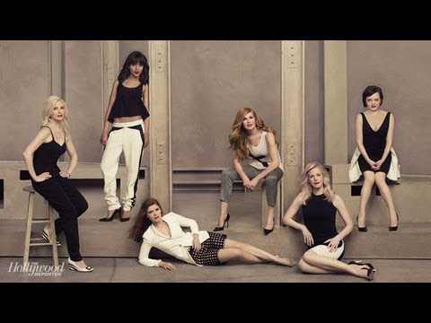 Watch Elisabeth Moss, Kate Mara, Kerry Washington, Connie Britton, Anna Gunn and Monica Potter in THR's Dramatic Actress Emmy Roundtable