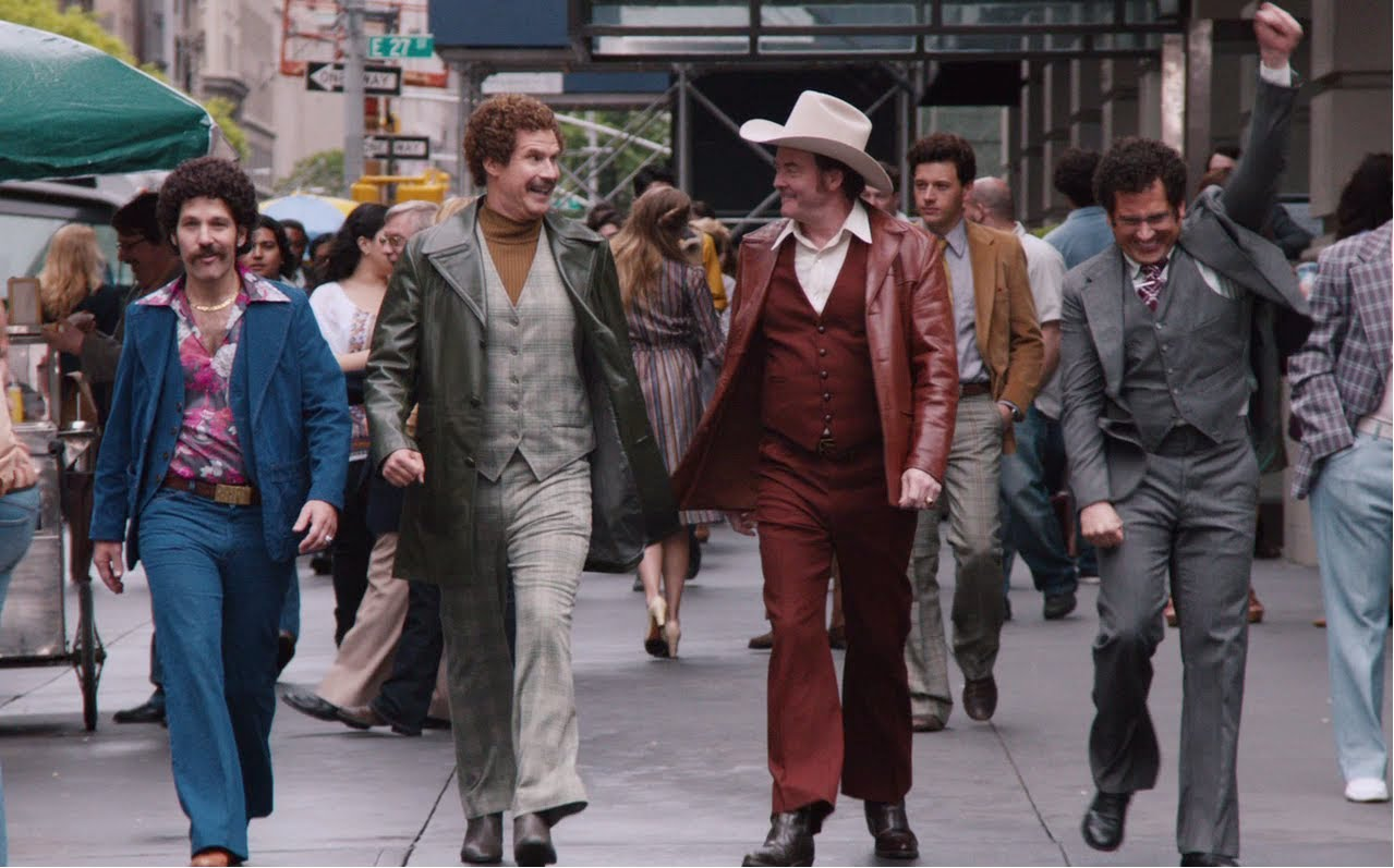 Trailer: 'Anchorman 2: The Legend Continues' Starring Ron Burgundy, Brian Fantana's Chest Hair and Brick Tamland's Perm