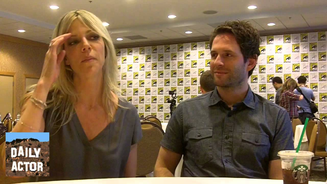 Interview: Glenn Howerton and Kaitlin Olson Talk 'It's Always Sunny', an On-Set Accident and Moving to FXX (video)