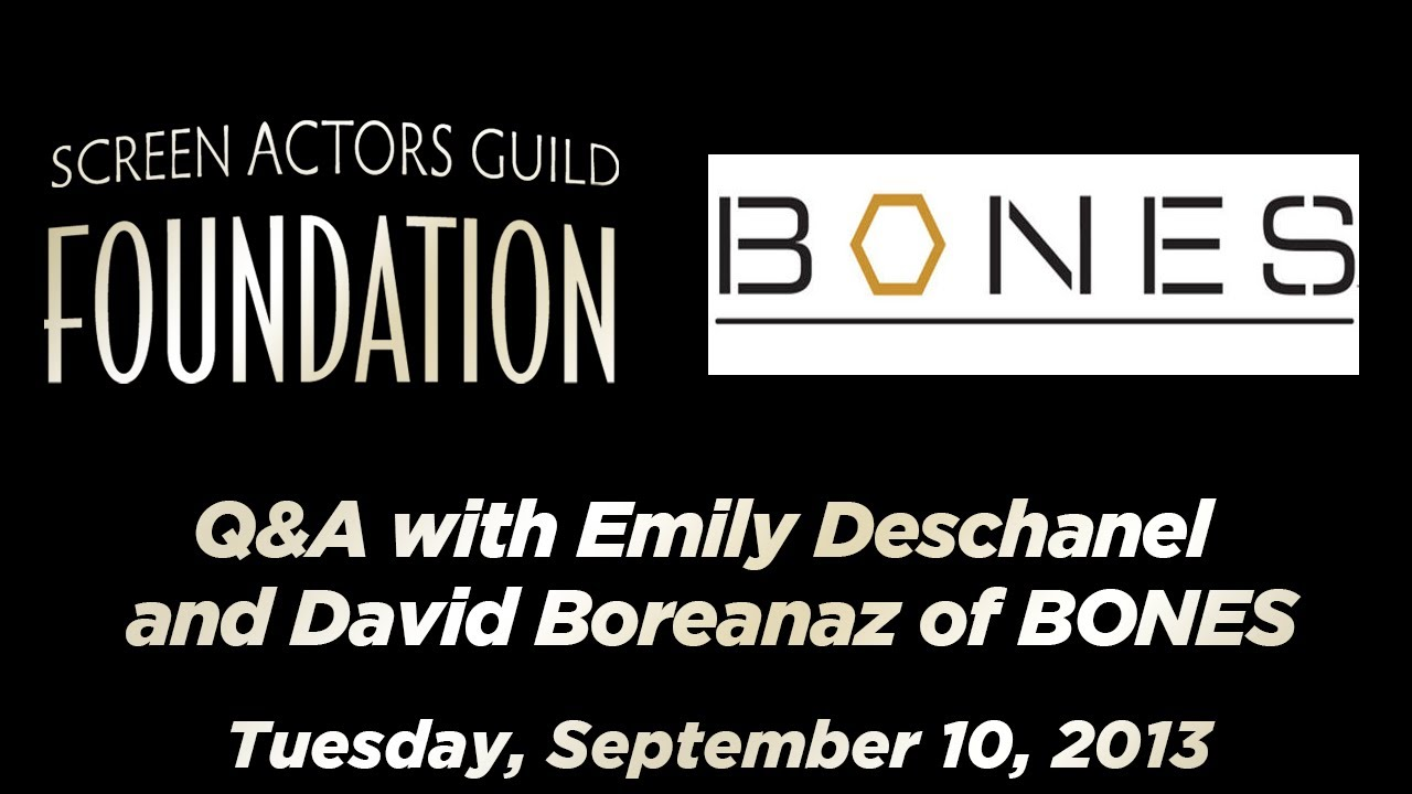 Emily Deschanel and David Boreanaz Talk 'Bones', Their Careers, Acting and More (video)