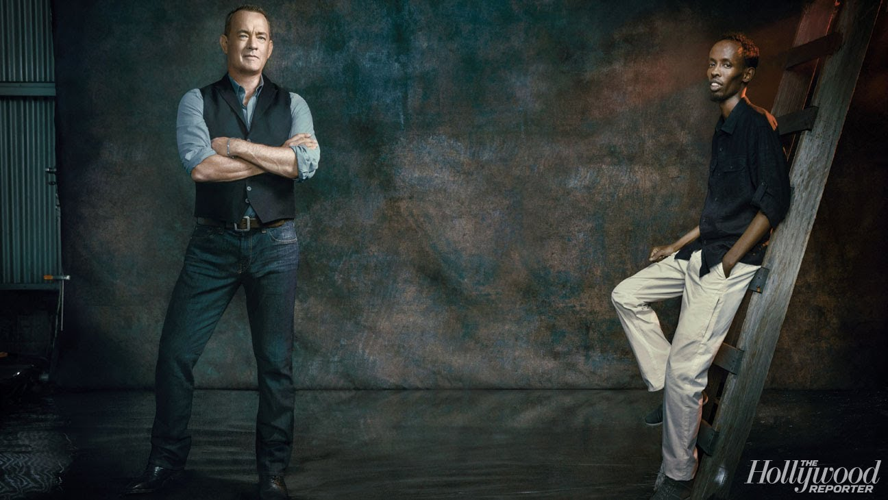 Tom Hanks and Barkhad Abdi Talk 'Captain Phillips'