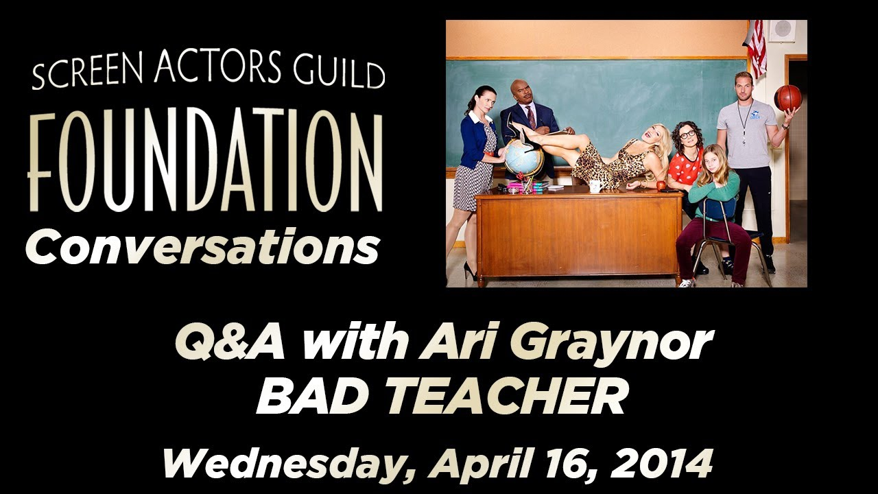 Ari Graynor on 'Bad Teacher', Her Career and Auditioning (Video ...