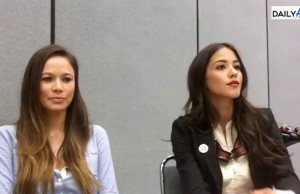 WonderCon: 'Falling Skies' Interview with Moon Bloodgood & Seychelle Gabriel