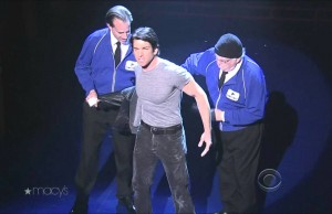 Watch Andy Karl & the Cast of 'Rocky' Perform 'Keep on Standing'