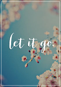 let it go acting advice
