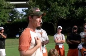 Matthew McConaughey Rallies his Alma Mater Football Team to Victory with the 'Wolf of Wall Street' Chant
