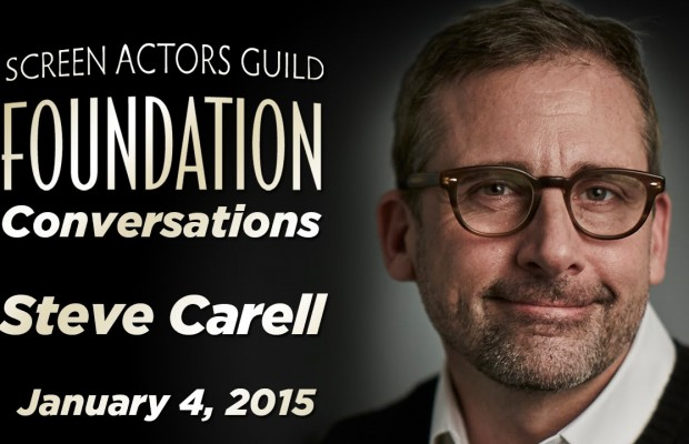 Watch: Oscar Nominee Steve Carell Talks Improv, Auditioning for 'The Office' and 'Foxcatcher'