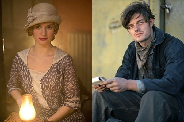 Lily James and Sam Riley Pride and Prejudice and Zombies interview