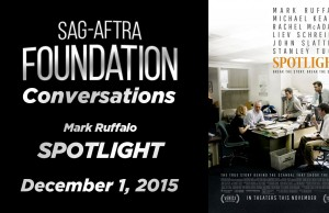 Watch: Conversations with Mark Ruffalo of 'Spotlight'