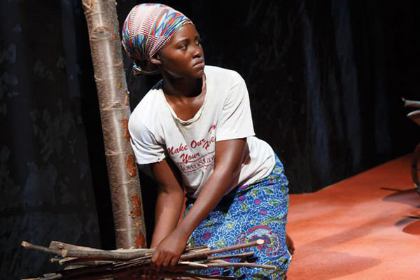 lupita nyong u2019o on her broadway debut   u0026quot when we get up on
