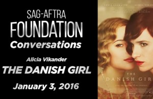 Watch: Conversations with Alicia Vikander of 'The Danish Girl'