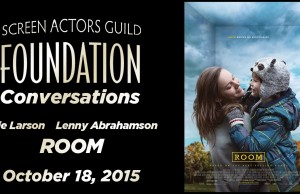 Watch: Conversations with Brie Larson and Lenny Abrahamson of 'Room'