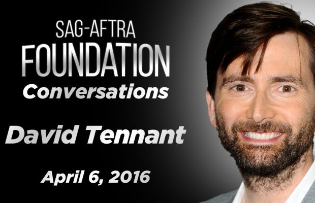 Watch: SAG Conversation with David Tennant