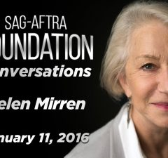 Watch: SAG Conversations with Helen Mirren