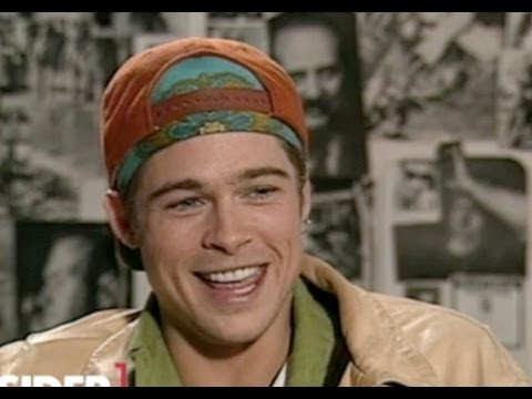 Watch: Brad Pitt's Awkward 1990 Interview