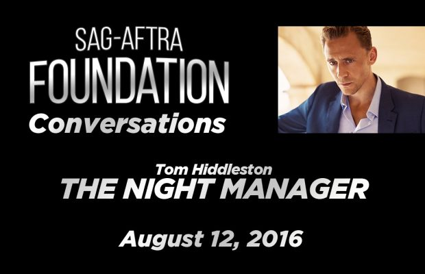 Watch: SAG Conversations with Tom Hiddleston of 'The Night Manager'