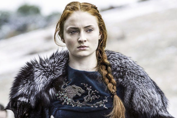 sophie turner on falling in love with acting and playing