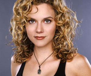 Actress Hilarie Burton