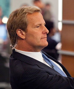 Jeff Daniels on 'Newsroom' Criticism and Memorizing Sorkin's Rapid-Pace Dialogue
