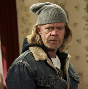 William H. Macy as Frank Gallagher in Shameless