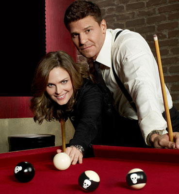 Emily Deschanel David Boreanaz Bones Interview