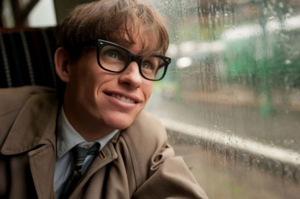 Eddie Redmayne as Stephen Hawking