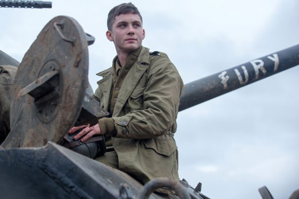 Logan Lerman Fury Movie