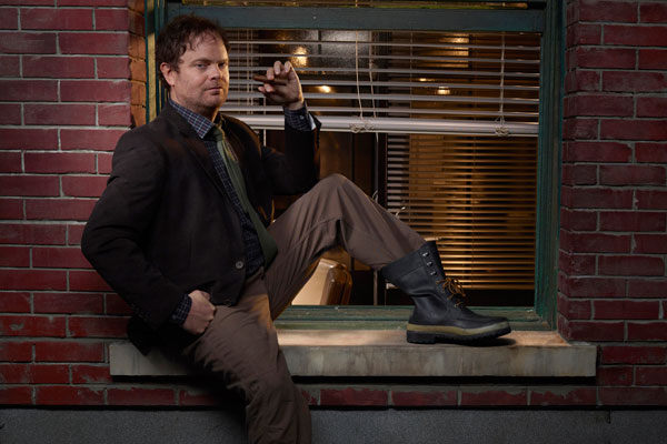 Rainn Wilson Backstrom Interview