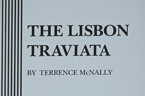 The Lisbon Traviata Monologue