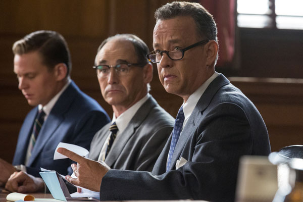 Bridge of Spies starring Tom Hanks and Mark Rylance