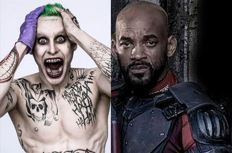 Jared Leto and Will Smith Suicide Squad