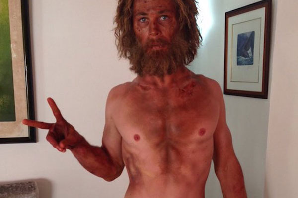 Chris Hemsworth Weight Loss for In the Heart of the Sea