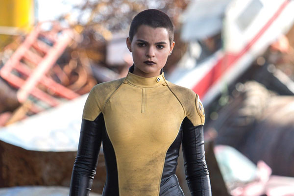 Brianna Hildebrand on her Deadpool Audition