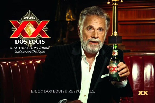 dos equis pitchman the most interesting man in the world sued by