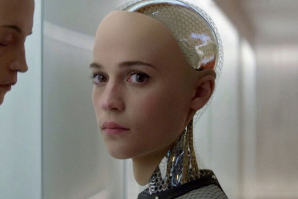 Alicia Vikander in Ex-Machina