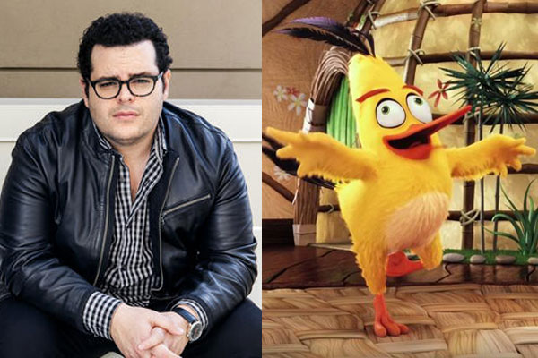 Josh Gad Angry Birds Voice Acting