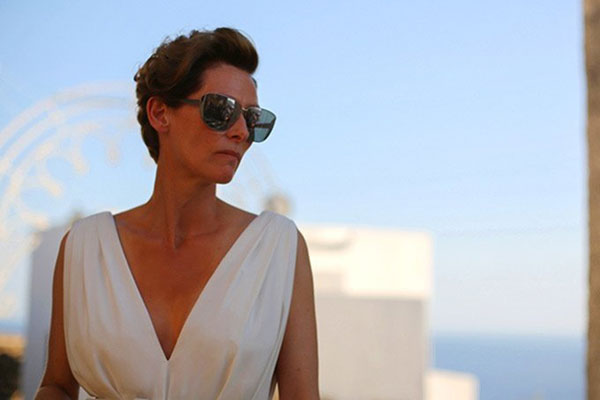 Tilda Swinton in A Bigger Splash