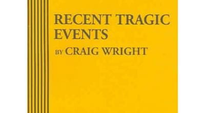 Recent Tragic Events Monologue