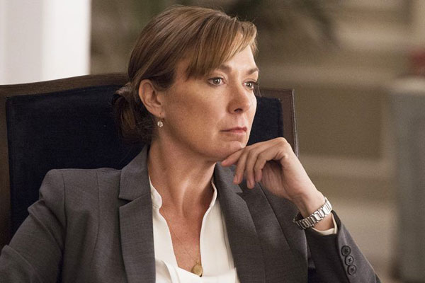 Actress Elizabeth Marvel