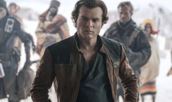 Actor Alden Ehrenreich in Solo
