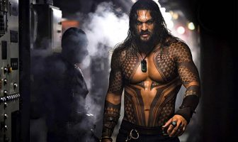 Actor Jason Momoa as Aquaman