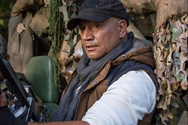 Actor Temuera Morrison in the film Occupation
